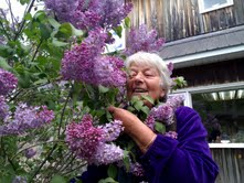 Marie in Lilac, Bromont
